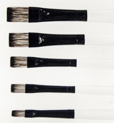 Fusion Flat  5  Brush Set