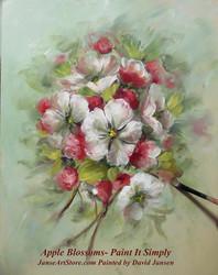 P1101 Apple Blossoms- Printed