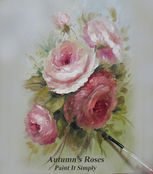 P1102 Autumn's Rose- Printed