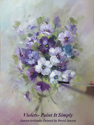 P1110 Violets- Printed