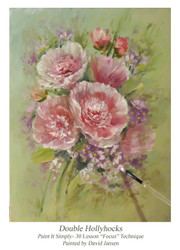 P1116 Double Hollyhocks- Printed