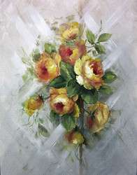 SP1008 Yellow Roses