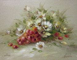 SP1010 Daisies and Grapes