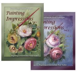 B5006 & B5007 Painting Impressions Volumes 1 & 2 Printed