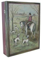 P1008 English Hunt Scene $6.95