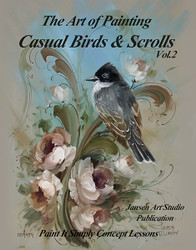 B5027 Birds and Scrolls Vol 2 - Art of Painting
