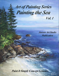 B5031 Painting the Sea- Art of Painting Series- Printed Book