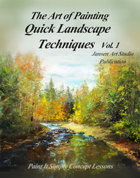 B5030- Quick Landscape Techniques Printed Book