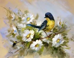 S101 The Art of Painting Birds Online Class