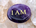 I AM Amethyst Palm Stone