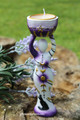 Moon Goddess Candle Holder Statue