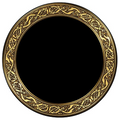 Scrying Mirror Celtic Snakes
