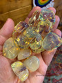 Yellow Obsidian Tumbled Stone
