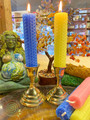 Ostara Beeswax Candles Set of Two