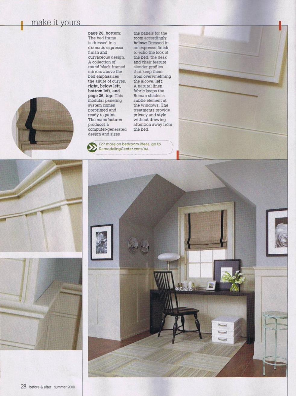 American Flat Panel Wainscot | Better Homes & Gardens 2