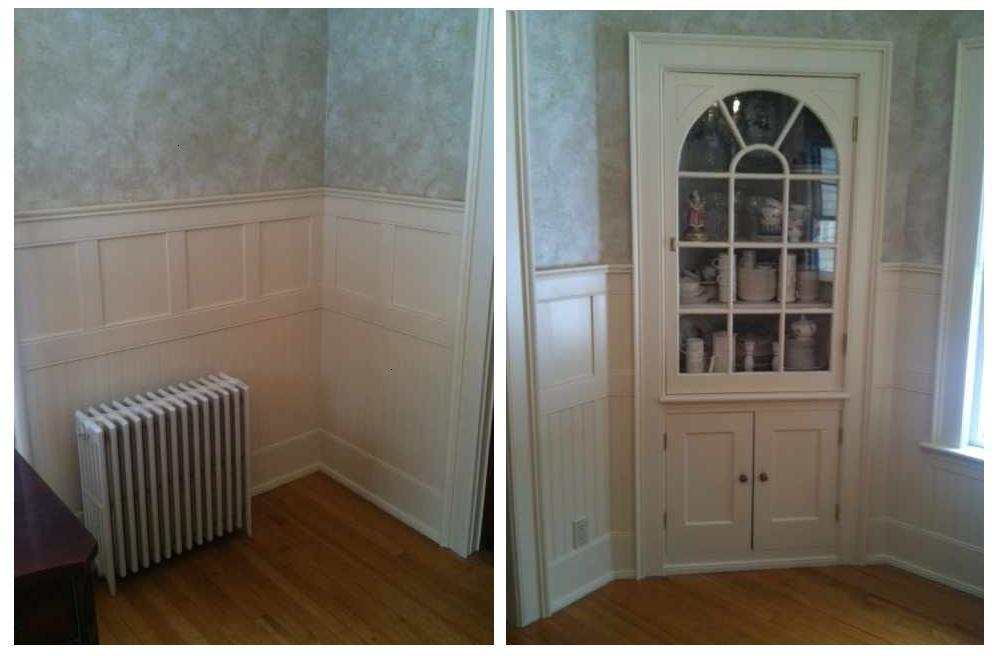 Class Cottage Wainscot in a Dining Room
