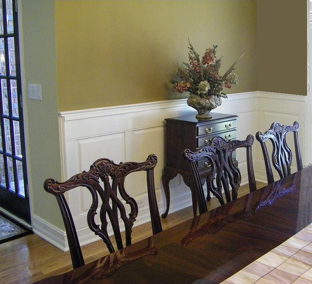 Portfolio Of Installed Wainscoting