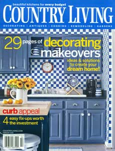 New England Classic wainscoting in Country Living magazine