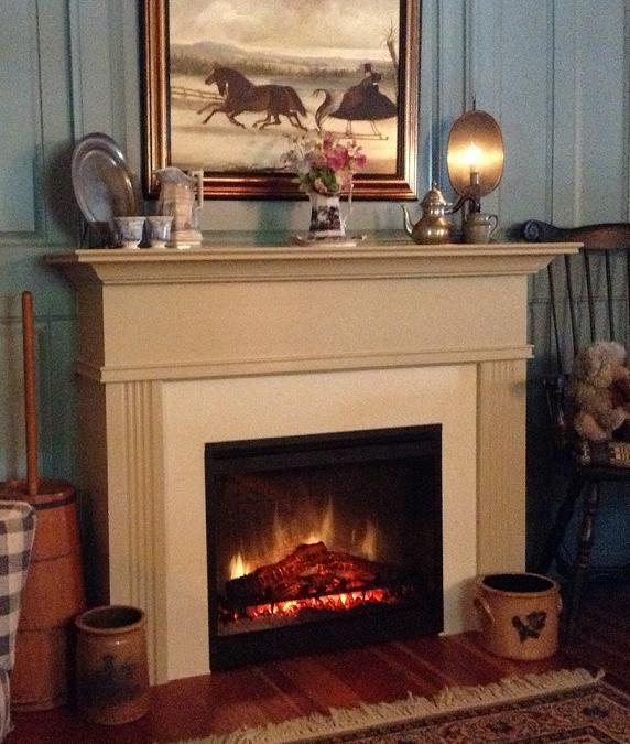 Killen Cabinet mantel for Electric Fireplace