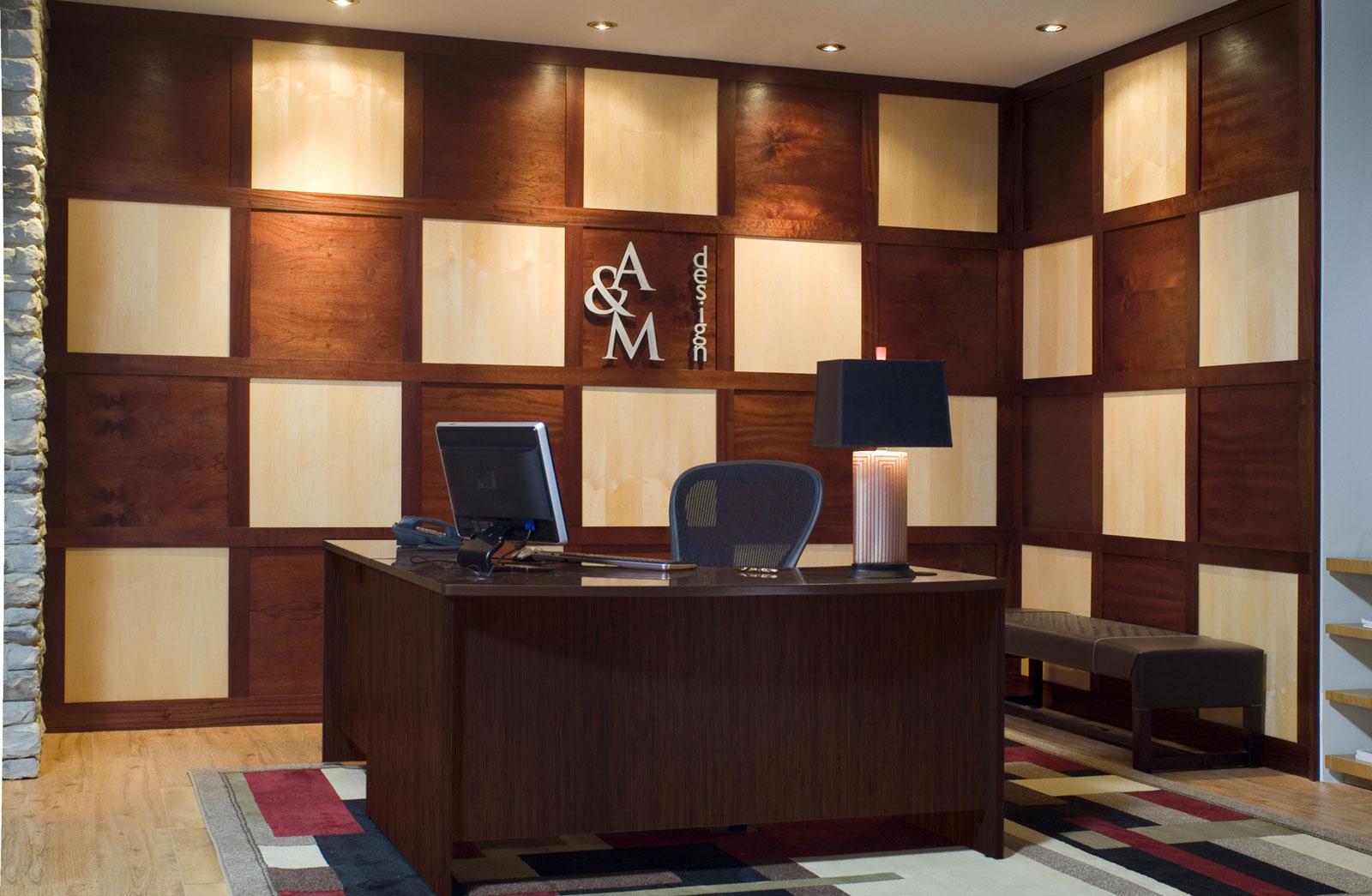 Modern Wall Paneling Detailed Image