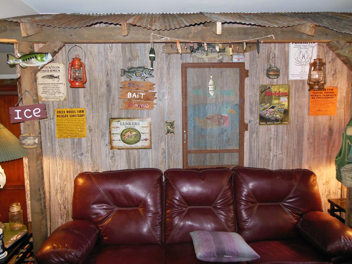 Rustic Plywood Paneling   Remodeling Ideas