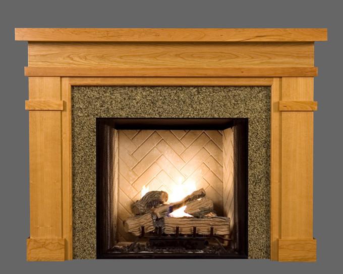 wood fireplace mantel surrounds bridgeport american series rh newenglandclassic com