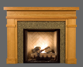 Bridgeport Custom Wood Fireplace Mantel