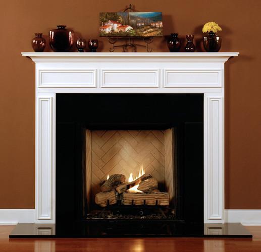 Wood Mantels For Fireplaces Custom Chalkville