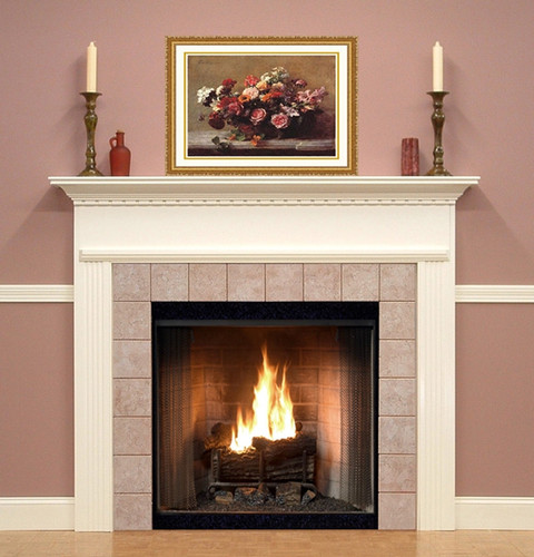 Warren Wood Fireplace Mantel Surrounds