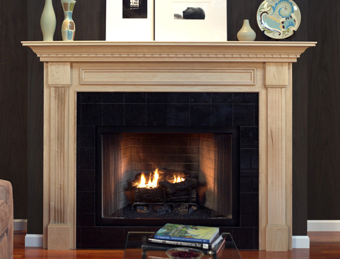 wood fireplace mantel surrounds american collection traditional rh newenglandclassic com
