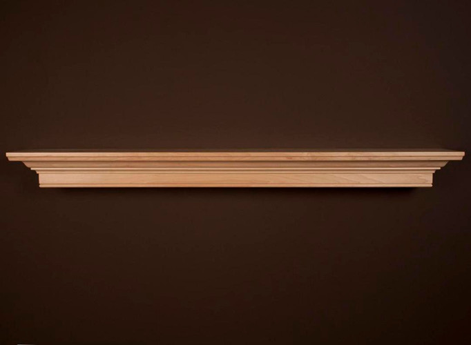 Daphne Natural Maple Mantel Shelf by New England Classic