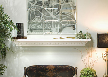 Decorative Mantel Shelf