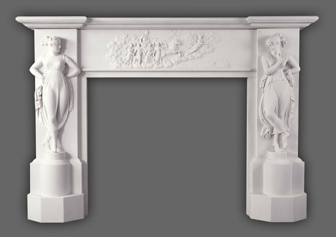 History is what inspired the Canova marble mantel and it is currently housed in the White House.