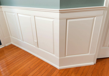 Classic Traditional Wainscot for Home Office 4 Foot Kit