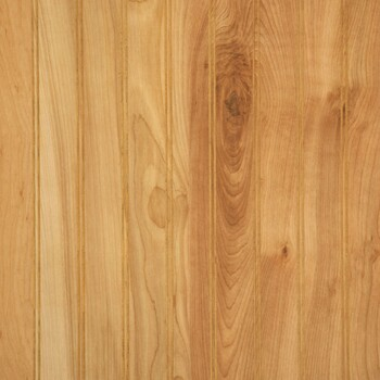 Natural birch beaded wall paneling. 4 x 8 sheets