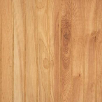 Detailed image of Natural Birch laminated wainscot paneling