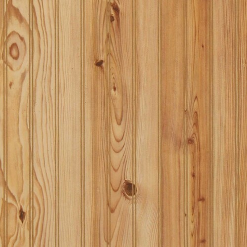 Beaded Ridge Pine Wainscot Paneling
