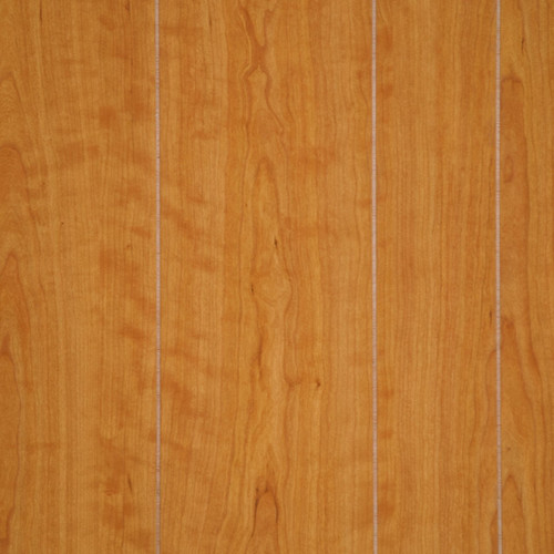 Light Autumn Cherry Wood Paneling Random Plank Panels