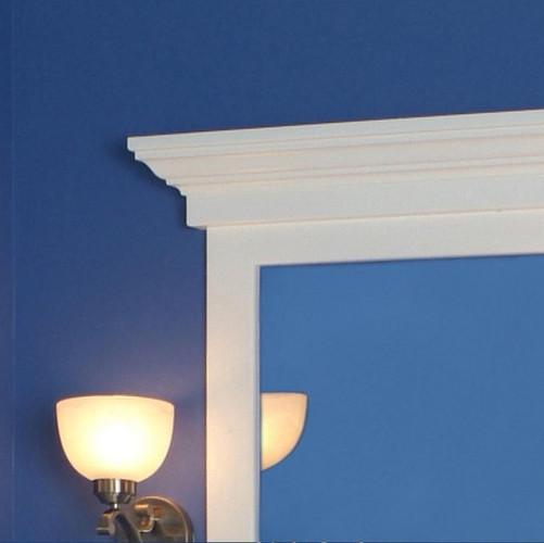 Maysville Mirror Frame Cap Corner