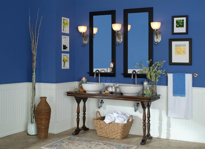 The Anderson Mirror Frames have the convenience of a Shelf