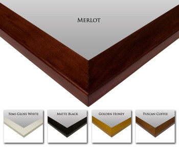 NewEnglandClassic Mirror Frame Finishes