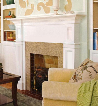 For a Hammond Fireplace mantel without an arch.