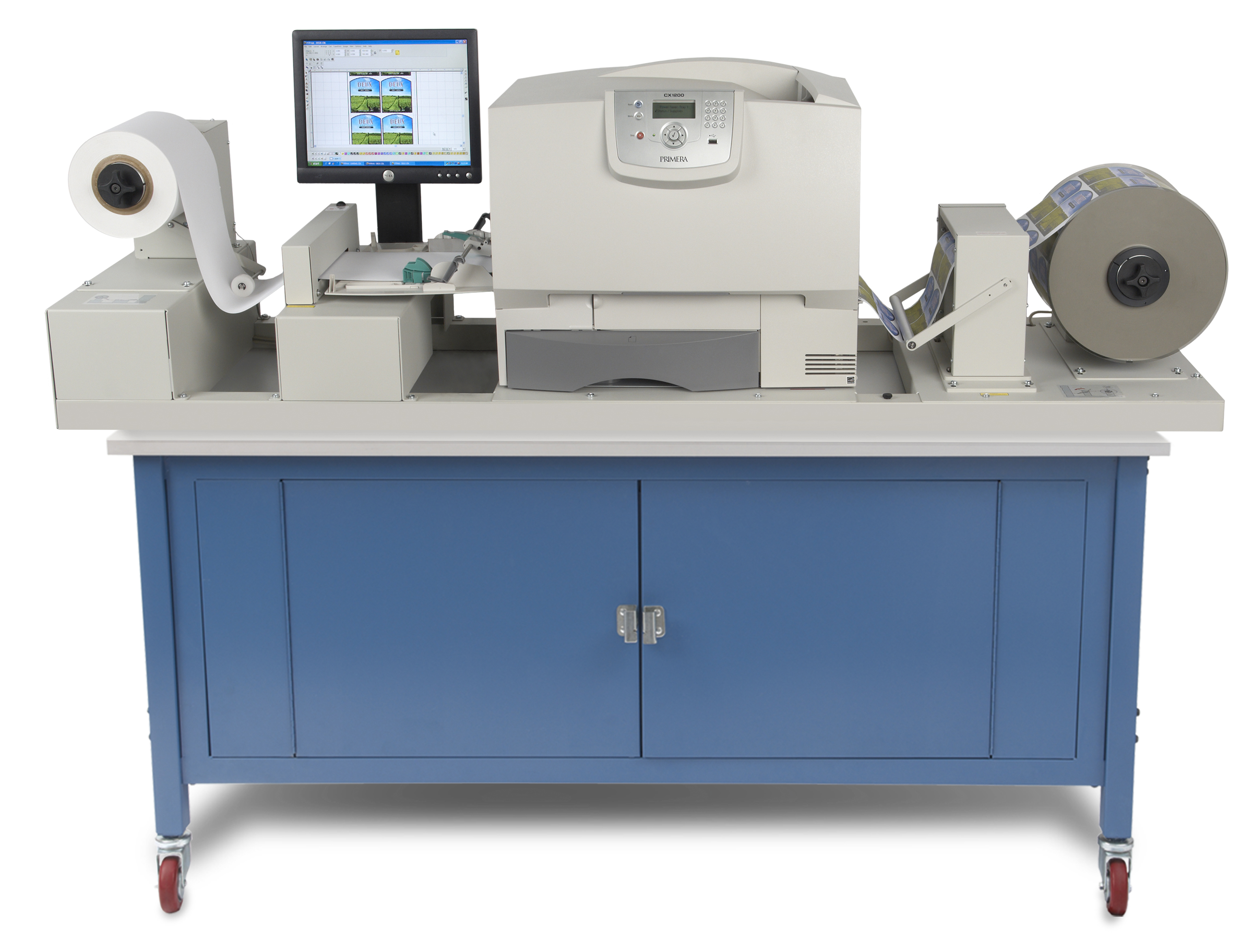 Lease your Primera CX1200 color label press from DurafastLabel.com