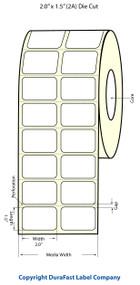 Epson TM-C3500 2x1.5 High Gloss Label Roll | Epson Media | 811011