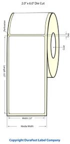 Epson TM-C3500 2x6 High Gloss Label Roll | Epson Media | 811024