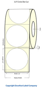 "Epson TM-C3500 3"" High Gloss Circle Labels | Epson Media | Epson Labels"
