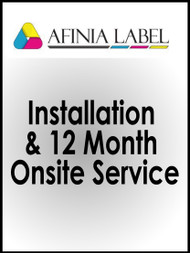 Afinia L801 Installation & 12 Month Onsite Service