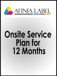 Afinia L801 Onsite Service Plan for 12 Months