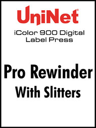 UniNet iColor 900 Pro Rewinder with Slitters