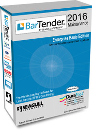 BarTender 2016 Enterprise Automation Maintenance  with 20 Printer License
